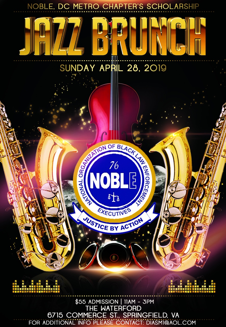 2019 scholarship jazz brunch flyer